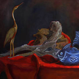 Libby  Cagle - Blue Fish