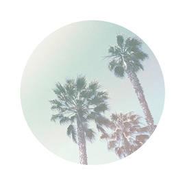 Breezy Palm Trees- Art by Linda Woods - Linda Woods