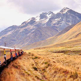 Nigel Fletcher-Jones - Crossing the Andes