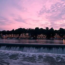 Bill Cannon - Dawn at Boathouse Row