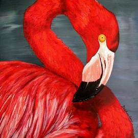 JoAnn Wheeler - Flamingo