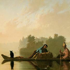 George Caleb Bingham - Fur Traders Descending the Missouri