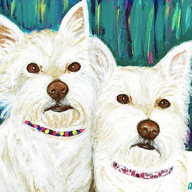 Ania M Milo - Harley and Tidus West Highland Terriers