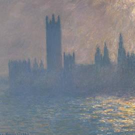 Houses of Parliament, Sunlight Effect - Claude Monet