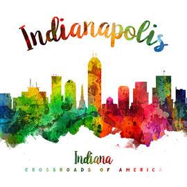 Indianapolis Indiana 24 - Aged Pixel