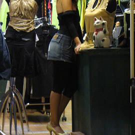 Joyce Goldin - Israeli Woman in Shop
