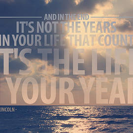Gal Ashkenazi - It is the life in your years Quote