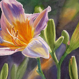 Sharon Freeman - Lavender and Gold Lily
