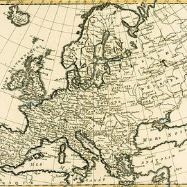 Guillaume Raynal  - Map of Europe