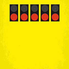 Chungkong Art - No075 My senna minimal movie poster