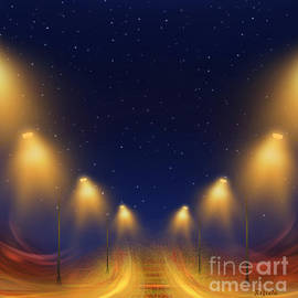 Giada Rossi - On the way home - digital painting by Giada Rossi
