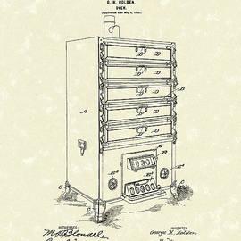 Prior Art Design - Oven Design 1900 Patent Art