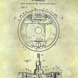 Jon Neidert - Porsche Brake Mechanism Patent