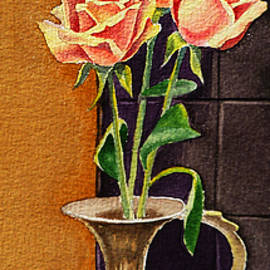 Irina Sztukowski - Roses In The Metal Vase