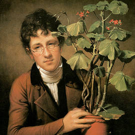 Rembrandt Peale - Rubens Peale with a Geranium