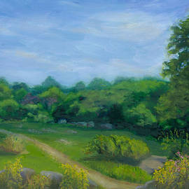 Paula Emery - Summer Afternoon at Ashlawn Farm