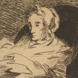 The Convalescent  - Edouard Manet