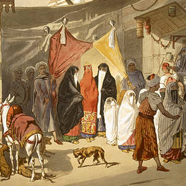 The Marriage of an Arab in Cairo - French School