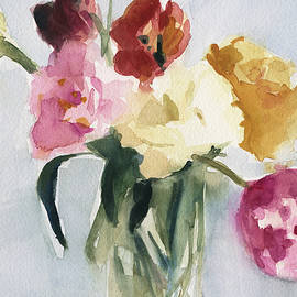 Tulips in My Studio - Beverly Brown Prints