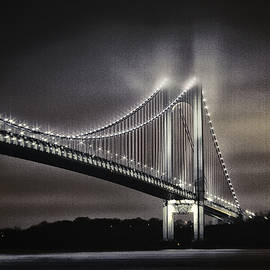 Alex AG - Verrazano Bridge in sepia