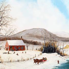Joseph Holodook - Winter School Days