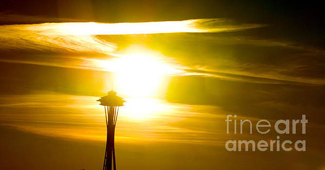 Nick Gustafson - Space Needle Sunset