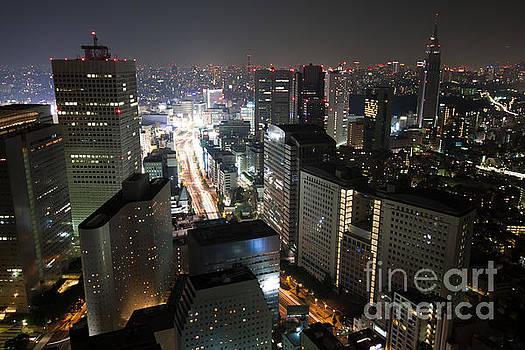Fototrav Print - Tokyo skyline at night
