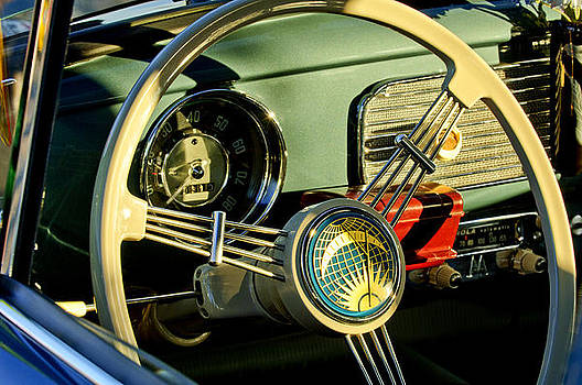 Jill Reger - 1956 Volkswagen VW Bug Steering Wheel 2