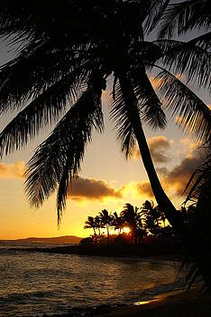 Robert Lozen - POIPU BEACH SUNSET