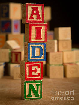 Edward Fielding - AIDEN - Alphabet Blocks
