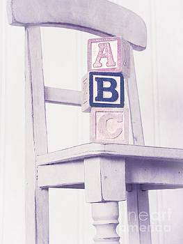 Edward Fielding - Alphabet Blocks Chair