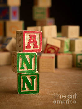 Edward Fielding - ANN - Alphabet Blocks