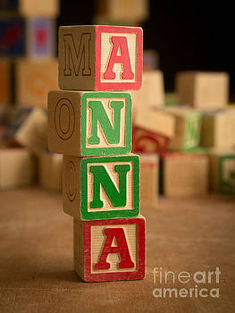 Edward Fielding - ANNA - Alphabet Blocks