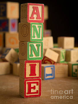 Edward Fielding - ANNIE - Alphabet Blocks
