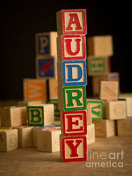 Edward Fielding - AUDREY - Alphabet Blocks