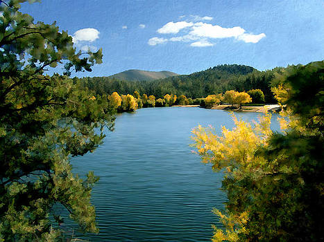 Kurt Van Wagner - Autumn at Lynx Lake