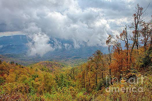 Dan Carmichael - Autumn Storm on the Blue Ridge Parkway