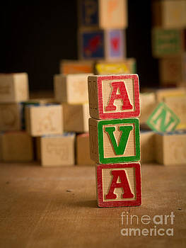 Edward Fielding - AVA - Alphabet Blocks