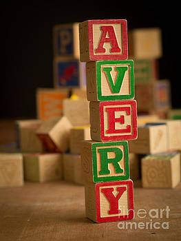 Edward Fielding - AVERY - Alphabet Blocks