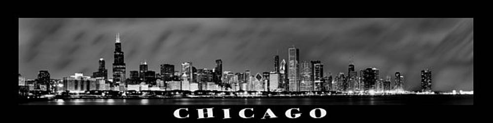 Sebastian Musial - Chicago Panorama at Night