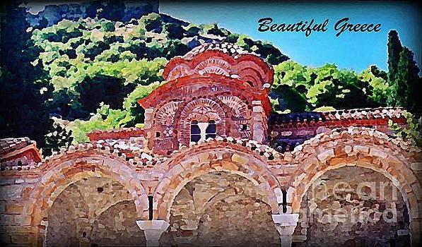 John Malone - Church Ruins in Greece
