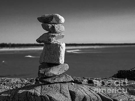 Steven Ralser - Coastal cairn