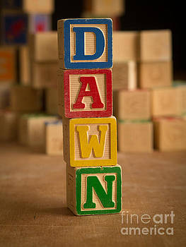 Edward Fielding - DAWN - Alphabet Blocks