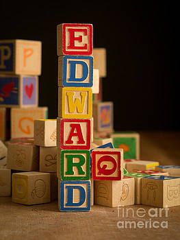 Edward Fielding - EDWARD - Alphabet Blocks