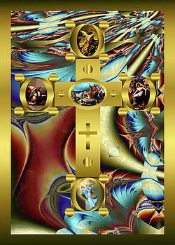 Robert Kernodle - Elaborate Christian Cross