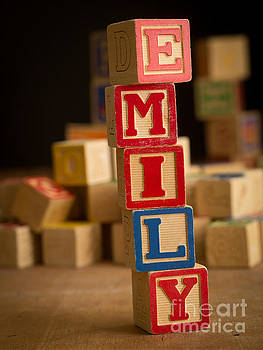 Edward Fielding - EMILY - Alphabet Blocks