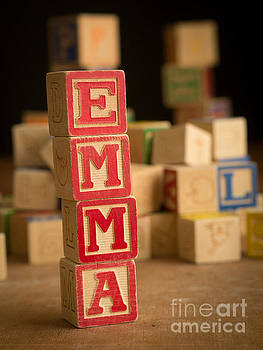 Edward Fielding - EMMA - Alphabet Blocks