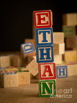 Edward Fielding - ETHAN - Alphabet Blocks