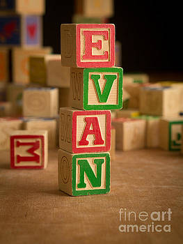 Edward Fielding - EVAN - Alphabet Blocks