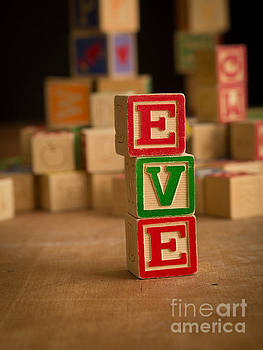 Edward Fielding - EVE - Alphabet Blocks